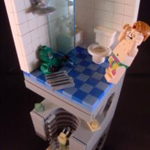 LEGO konst badrum