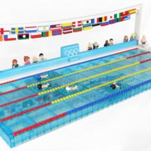LEGO OS i simning 2012