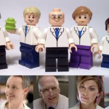 LEGO Konst - ICA karaktärerna