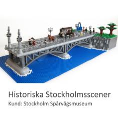 Spårvägsmuseet – Bremlerbrick´s LEGO utställning