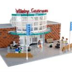Översiktsmodellen av LEGO – Väsby Centrum 40års firande