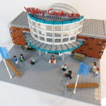 Översikts-modellen av LEGO – Väsby Centrum 40års firande