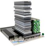Arkitektkontor beställer fysiska-modeller av LEGO