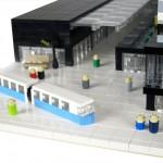 Fysisk legomodell till arkitektkontor