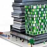 Arkitektkontor beställer fysiska modeller av LEGO