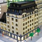 Arkitekturmodeller av LEGO – Sveavägen 44