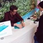 Arkitekt i LEGO håller i Haninge Centrums LEGO-event