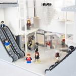 LEGO arkitektur – Haninge Centrum