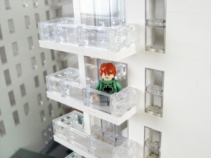 Arkitekt modell till KAB fastigheter av LEGO