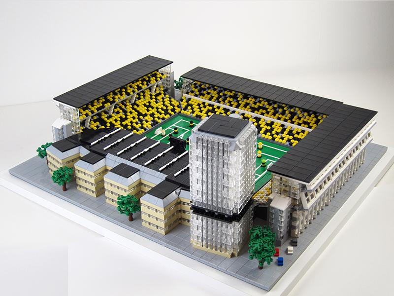 Råsundastadion – Råsunda Solna STHLM av LEGO