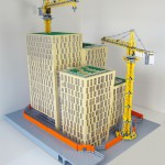 ny samlingsplats Stockholm lokaltrafik - Orgelpipan 6 av LEGO