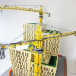 Bygget av Orgelpipan ställs ut i LEGO visualiserar nya samlingsplatsen för Stockholms Lokaltrafik