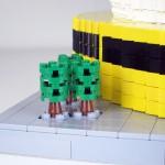 Avskedsgåva av LEGO - globen till NCC anställd