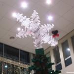 Julskyltning en Toppstjärna av LEGO