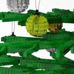 Julskyltning av LEGO