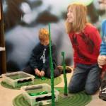 LEGO workshop i Huddinge Centrums Julevent