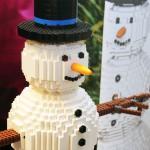 Julevent med Snögubbe av lego – Bremlerbrick