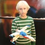 Rymdraket i LEGO visas i Huddinge Centrums julevent