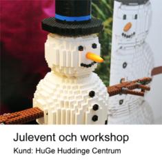 Julevent och workshop i LEGO
