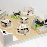 Lego-modellen i sin helhet