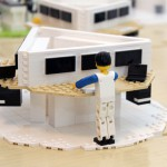 Kontorsterminal i LEGO – Dustin