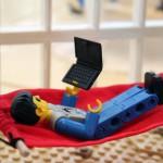 LEGO hängmatta kontorsmodell – Dustin