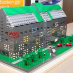 MyOffice modeller av LEGO  visualiserar