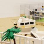 LEGO prototyp modell kontor – Dustin