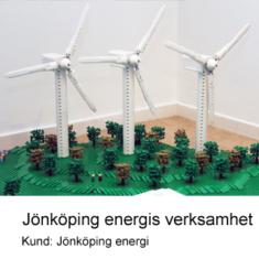 Byggnadsmodell av LEGO