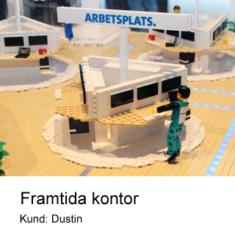 LEGO Prototyp modell till Dustin
