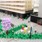 Bremlerbrick bygger Arkitekturmodell av LEGO