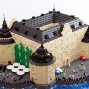 Lego modellen i give away event - Örebro slott