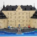 Örebro slott av lego – Miniatyrmodell som give away
