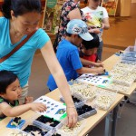 Give away event i legoslott modell av Örebro slott