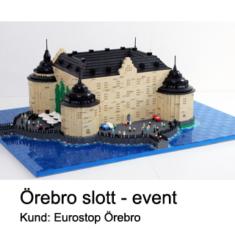 Giveaway event Örebro Slott i LEGO