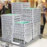Modellen av LEGO väcker många nyfikna beundrare