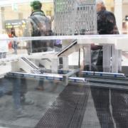 Citybanans modell av lego