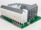 Arkitektmodell av LEGO till Skanska Nya Hem 9