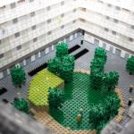 Arkitektmodell av LEGO