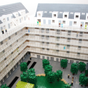Arkitektmodell av LEGO till Skanska Nya Hem 5