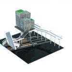 LEGO modellen av Citybanan i översikt