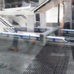 Citybanans av lego i modell