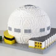 Avskedsgåva på uppdrag av Skanska Nya Hem - Avskedspresent av LEGO