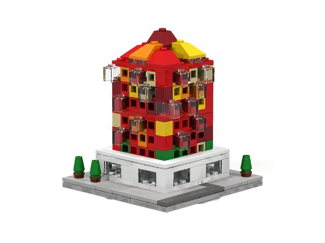 LEGO som företagsaktivitet