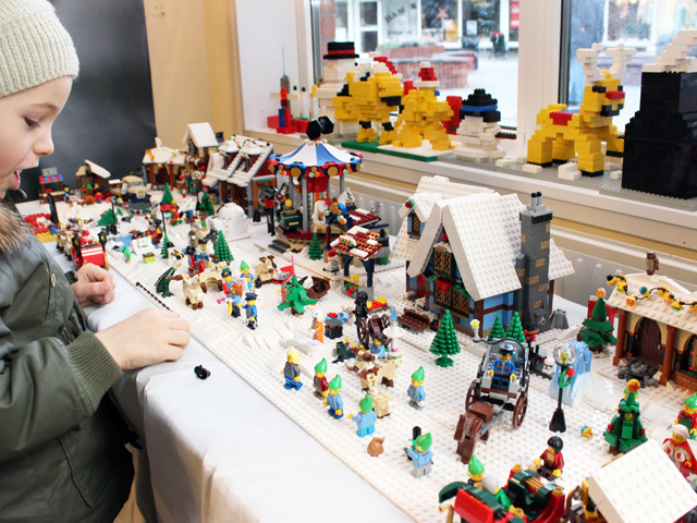 Julevent och workshop i LEGO