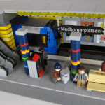 LEGO City modeller Stockholm tunnelbana