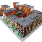 Exterioeren oeversiktsmodell stockholmshem