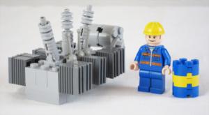 Bremlerbrick har även tagit fram en minimodell av transformatorn.