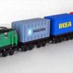 LEGO-modell Cargo Lok och tåg