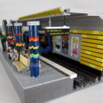 Tåg modeller beställda av SL i LEGO